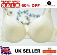 613a1cedc3 Sexy Lady s Boost Enhancer Padded Push Up Comfort Bra UK size 36B white  XSJMS
