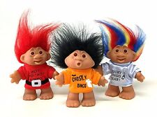 Trolls - Set of 3 - Lucky Bingo Trolls  - Halloween, Christmas & New Year - 5""