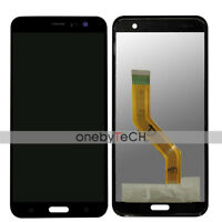"""New Black Touch Screen Digitizer LCD Display Assembly For 5.5"""" HTC U11 HTC U 11"""