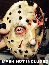 Jason Voorhees Hockey Mask eye insert Friday 13th Halloween costume Prop