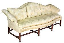 Swc-A Chippendale Mahogany Serpentine Camelback Sofa, New York, c.1800
