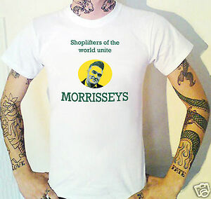 Morrisseys Shopping T-Shirt Funny