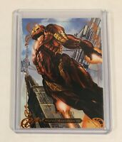 Iron Man 44/99 2018 Marvel Masterpieces Legendary Orange Tier 4 Level 4