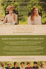 THE SEAGULL FILM POSTCARDS X 2 - SAOIRSE RONAN ANNETTE BENING ANTON CHEKHOV