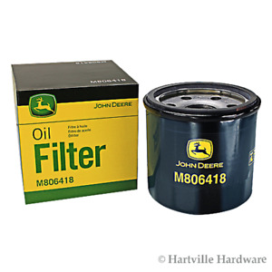 John Deere Original Equipment Oil Filter #M806418