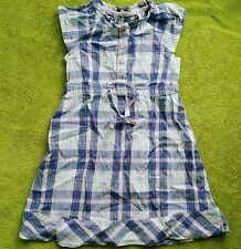 girl 18-24 months mothercare summer blue checked dress