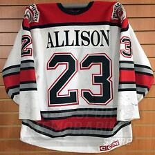 Jason Allison Portland Pirates Authentic 1994-95 AHL Game Worn Hockey Jersey