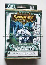 Warmachine Retribution Myrmidon Hydra/Manticore/Phoenix PIP35007 Used Out of Box