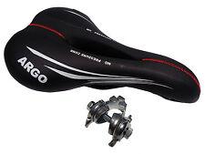 Sella MONTEGRAPPA ARGO + Morsetto Sella Bici MTB - City Bike Anti Prostata Nero