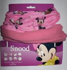 Disney´s Minnie *Kinder Snood in rosa mit rosa Vlies*Loop*Schlauchschal*Schal