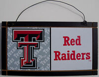New Texas Tech Red Raiders University College Licensed Wooden Sign Sport Fan