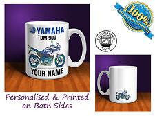 Yamaha TDM 900 Motorbike Personalised Ceramic Mug Gift (MB090)