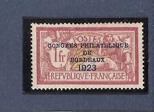 """SUPERBE TIMBRE YT N° 182 """"congrès philatélique de Bordeaux""""Neuf**TBC cote 1340€"""