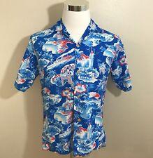 Kilohana Hawaiian Shirt Medium Lurline Aloha