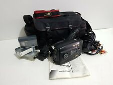 Vintage JVC Camcorder GR-AX200E VHSC Comes with Charger, Manual and Accessories
