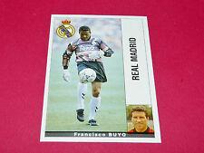 FRANCISCO BUYO FUTBOL REAL MADRID PANINI LIGA 95-96 ESPANA 1995-1996 FOOTBALL