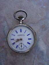 Ancienne montre en argent à gousset SURETE – old pocket watch
