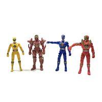 Power Rangers Dino Thunder Action Figure 2003 MMPR Lot Crimson Blue Red Yellow