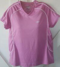 Women's athletic top. Medium REEBOK Play dry short sleeve top