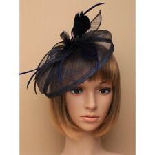 sale usa online great fit to buy Navy Fascinator Hat in Women's Fascinators & Headpieces for ...
