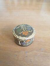 Nice Decorative Lacquered Papier Mache Trinket Pot