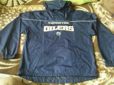 Rare Nhl Track Jacket - Edmonton Oilers Size M