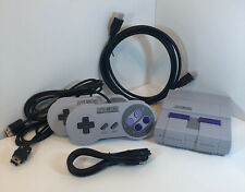 Nintendo SNES Super Nintendo Classic Mini Super Entertainment System ~21 Games~