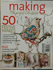 Making Magazine The Perfect Christmas Festive Dec 2014 FREE PRIORITY SHIPPING