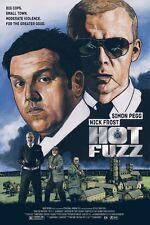 Hot Fuzz Alternative Movie Poster Print Art by Roby Amor No. /60 NT Mondo