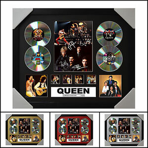 Queen Signed Framed Memorabilia Limited Edition - 2017 - Multiple Variations