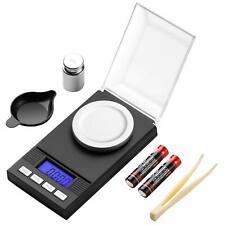 Milligram Scale 50g / 0.001g Digital Jewelry Gun Powder Scale for Reloading