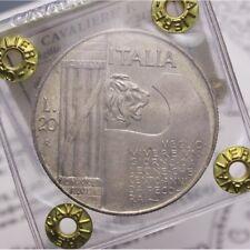 20 Lire 1928 Elmetto NC (Regno Italia VE III) FDC LOT1759