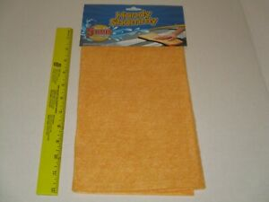 """Wow Handy Shammy - Great For Drying Off Cars, Cleaning, Spills Large 16"""" x 13.5"""""""