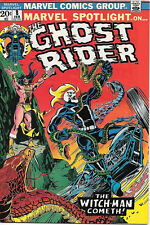 Marvel Spotlight On... Comic Book #8 Ghost Rider 1973 VERY FINE