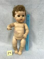 Vintage American Character Tiny Tears Rock A Bye Eyes Doll - 15""