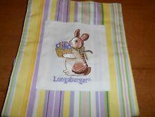 Longaberger Easter Tote/Purse Multi-colored