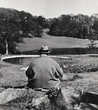 1951 Vintage WINSTON CHURCHILL Britain England Landscape 16x20 PHILIPPE HALSMAN
