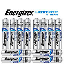 SHRINK PACK OF 12X ENERGIZER AAA 635883 ULTIMATE LITHIUM BATTERIES LR03 1.5v