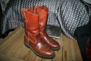 VINTAGE RED WING BOOTS 7 PECOS PULL ON BOOTS MENS 7 WOMENS 9 RED WING BOOTS 7