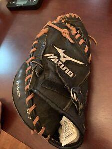 "Used Mizuno GXC105D 32.5"" Baseball Left Handed Catchers Mitt Glove"
