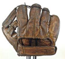 Antique Glove Mitt Vintage ROGER CRAMER Leather Webb Great