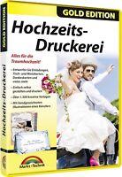 Hochzeits Druckerei - Speisekarten, Tisch- und Menükarten, Dankeskarten uvm.
