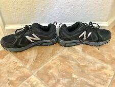 Men's New Balance  NB MT 410v5 size 9.5 4E TECH RIDE Black Gray All Terrain Shoe