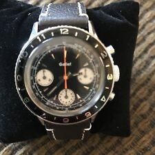 Gallet Multichron Watch Pilot Valjoux 72. Mint condition Factory Serviced