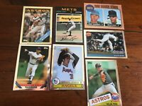 NOLAN RYAN 1999 Topps Finest Chrome 7 Card Reprints With Rookie Card