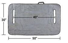 Greenline Golf Cart Seat Blanket/Cover with Polar Fleece, Black