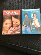 A Walk To Remember & How To Deal Dvd's... Mandy Moore