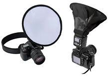 Flash Softbox/ Diffuser For Canon 600EX-RT 580EXII 320EX 270EX Nikon SB910 SB900