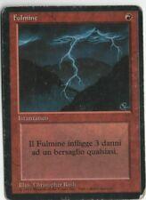 Lightning Bolt FBB Revised Italian MTG HP Black Border