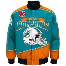 Miami Dolphins NFL Enforcer Jacket - Size Adult Medium Free Ship